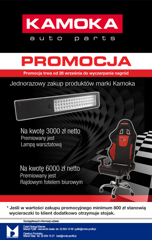 Kamoka - Promocja
