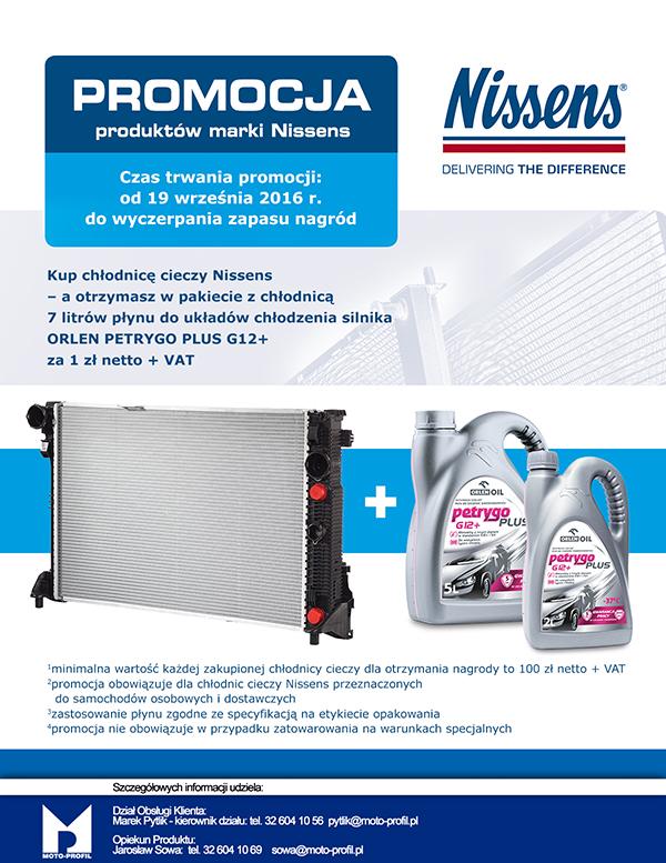 Promocja produktów marki Nissens