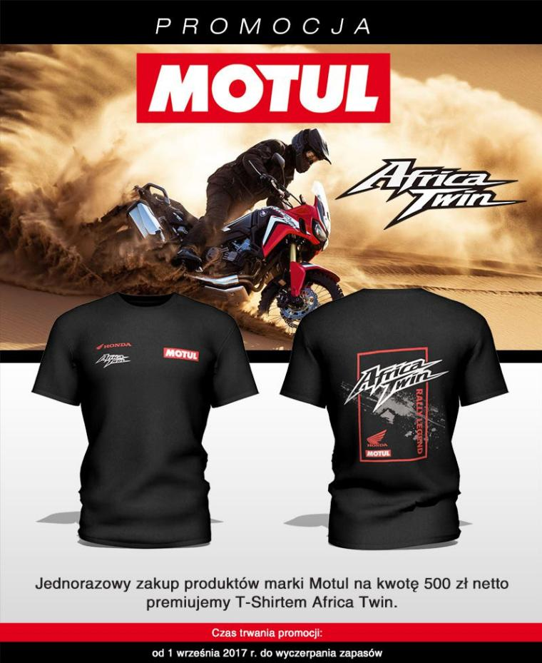 Motul - T-shirt Africa Twin